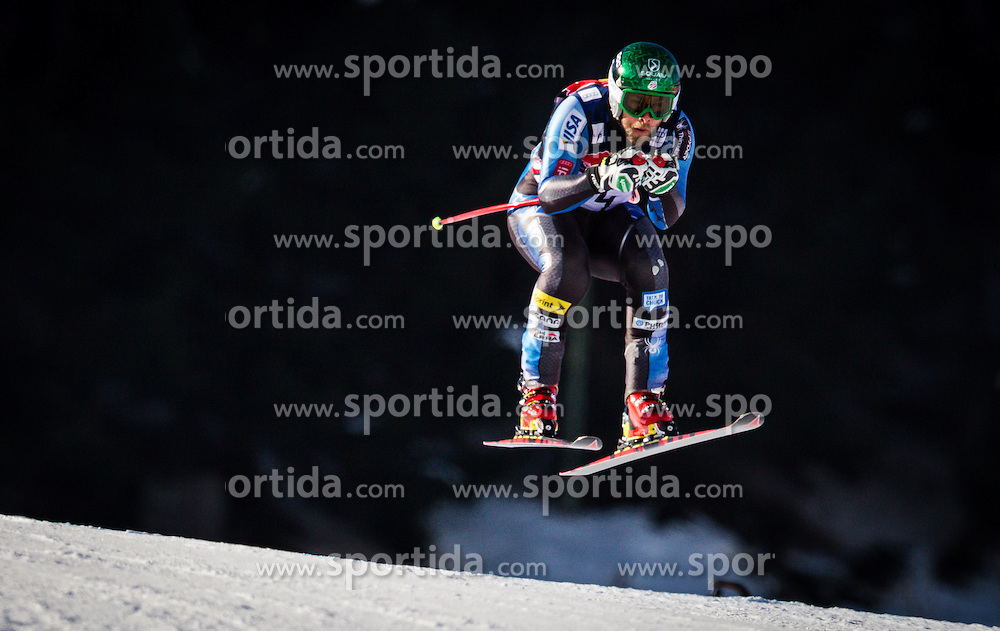 24.01.2013, Streif, Kitzbuehel, AUT, FIS Weltcup Ski Alpin, Abfahrt, Herren, 3. Training, im Bild Travis Ganong (USA) // Travis Ganong of the USA in action during 3th practice of mens Downhill of the FIS Ski Alpine World Cup at the Streif course, Kitzbuehel, Austria on 2013/01/24. EXPA Pictures © 2013, PhotoCredit: .EXPA/ Juergen Feichter