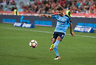 October 08, 2016: Sydney FC midfielder Milos NINKOVIC (10) at Round 1 of the 2016 Hyundai A-League match, between Western Sydney Wanderers and Sydney FC, played at ANZ Stadium in Sydney. Sydney FC won the game 4-0.