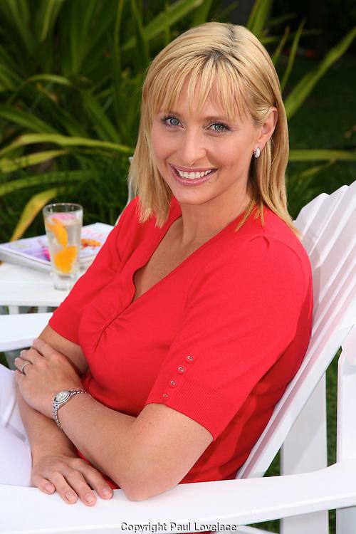 Johanna Griggs at Balmoral Beach and various Mosman locations..Pics Paul Lovelace 09.10.07
