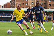 Leeds United Midfielder Adam Forshaw (4) during the Pre-Season Friendly match between Southend United and Leeds United at Roots Hall, Southend, England on 22 July 2018. Picture by Stephen Wright.