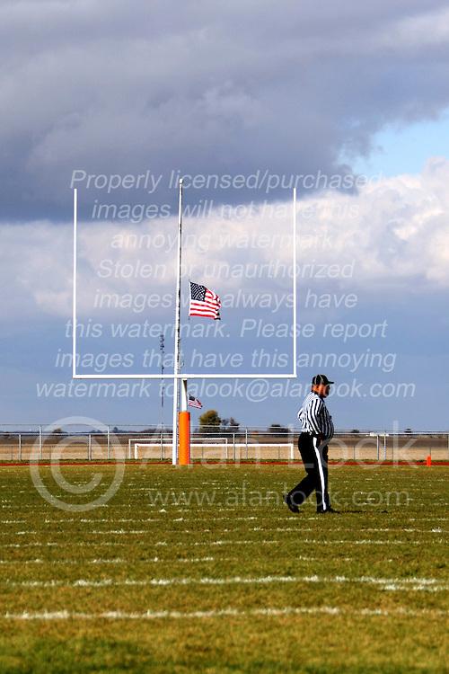 2 November 2013: Bloomington High School Raiders at Normal Community Ironmen in Normal Illinois, 1st round IHSA football playoffs