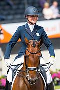 Mara de Vries - Farzana G<br /> WK Selectie Jonge Dressuurpaarden 2017<br /> © DigiShots