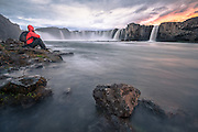 Image from Northeast-Iceland Godafoss waterfall