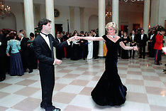 Princess Diana at White House 1985