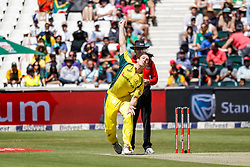 Mitchell Marsh of Australia during the 2nd ODI match between South Africa and Australia held at The Wanderers Stadium in Johannesburg, Gauteng, South Africa on the 2nd October  2016<br /> <br /> Photo by Dominic Barnardt/ RealTime Images