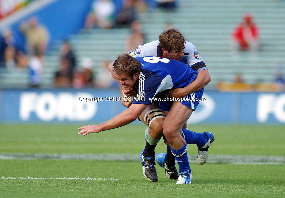 4 April, 2004. Rugby Union Super 12. Eden Park, Auckland, New Zealand. Blues v Waratahs.<br />