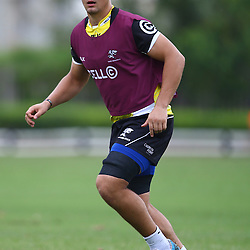 DURBAN, SOUTH AFRICA, 5 April, 2016 -  Etienne Oosthuizen during The Cell C Sharks training session  at Growthpoint Kings Park in Durban, South Africa. (Photo by Steve Haag)<br /> images for social media must have consent from Steve Haag