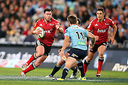 Ryan Crotty running. NSW Waratahs v Canterbury Crusaders. Sport Rugby Union Super Rugby Representative Provincial. ANZ Stadium. 23 May 2015. Photo by Paul Seiser/SPA Images