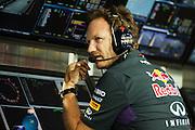 September 18-21, 2014 : Singapore Formula One Grand Prix - Christian Horner, team principal of Red Bull Racing