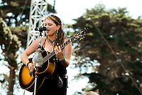 Crystal Bowersox plays 12th Annual Power to the Peaceful Festival in Golden Gate Park, in San Francisco, CA.  Copyright 2010 Reid McNally.