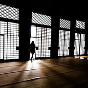 Nishi Honganji, Kyoto, Japan.