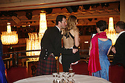 HAMISH MCDONALD AND ALEXANDRA DALY, The Royal Caledonian charity Ball 2006.Grosvenor House. London. 5 May 2006. . ONE TIME USE ONLY - DO NOT ARCHIVE  © Copyright Photograph by Dafydd Jones 66 Stockwell Park Rd. London SW9 0DA Tel 020 7733 0108 www.dafjones.com