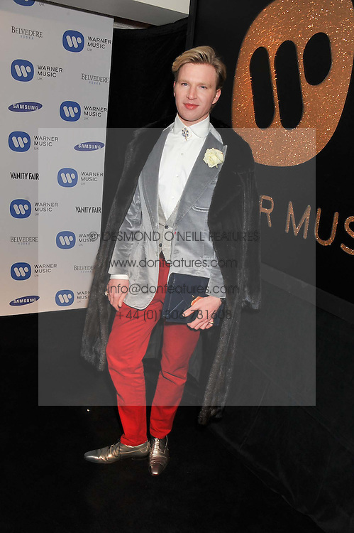 HENRY CONWAY at the Warner Music Group Post Brit Awards Party in Association with Samsung held at The Savoy, London on 20th February 2013.