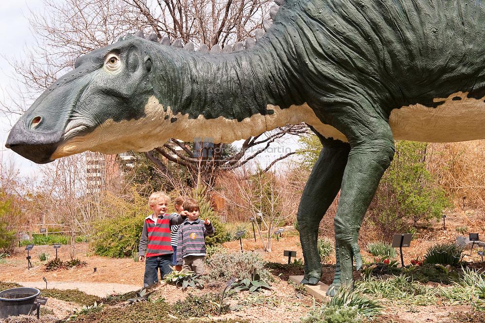 Jurassic Gardens Installation. April 13, 2009