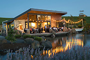 Pre-IPNC winemaker alfresco dinner, Saffron Fields vineyards, Yamhill-Carlton AVA, Willamette Valley, Oregon