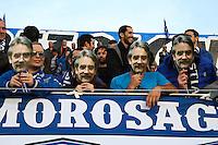 Supporters Bastia - Frederic THIRIEZ - 18.04.2015 - Bastia / Reims - 33eme journee de Ligue 1<br />Photo : Michel Maestracci / Icon Sport