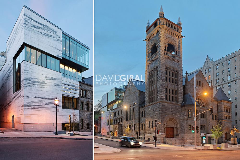 Architecture Photography: Museum of Fine Arts, Musée des Beaux Arts, Arrondissement Ville-Marie, Montreal, Quebec, Canada