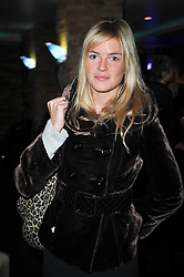 ISABELLA ANSTRUTHER-GOUGH-CALTHORPE at a screening of the short film 'The Volunteer' held at the Courthouse Hilton Hotel, 19-21 Great Marlborough Street, London W1 on 26th October 2009.