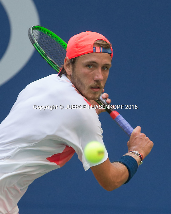 LUCAS POUILLE (FRA)<br /> <br /> Tennis - US Open 2016 - Grand Slam ITF / ATP / WTA -  USTA Billie Jean King National Tennis Center - New York - New York - USA  - 4 September 2016.