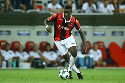 August 22, 2017 - Nice, France - Mario Balotelli of Nice  during the UEFA Champions League Qualifying Play-Offs round, second leg match, between OGC Nice and SSC Napoli at Allianz Riviera Stadium on August 22, 2017 in Nice, France. (Credit Image: © Matteo Ciambelli/NurPhoto via ZUMA Press)