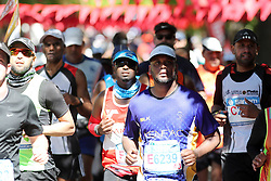 Runners make their way down Company Gardens during the 2016 Sanlam Cape Town marathon held in Cape Town, South Africa on the 18th September  2016<br /> <br /> Photo by: Ron Gaunt / RealTime Images