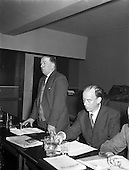 1955 - Irish Trade Union Congress meeting at the Four Province Hall