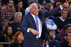 December 8, 2017 - Barcelona, Catalonia, Spain - Zeljko Obradovic during the match between FC Barcelona v Fenerbahce corresponding to the week 11 of the basketball Euroleague, in Barcelona, on December 08, 2017. (Credit Image: © Urbanandsport/NurPhoto via ZUMA Press)