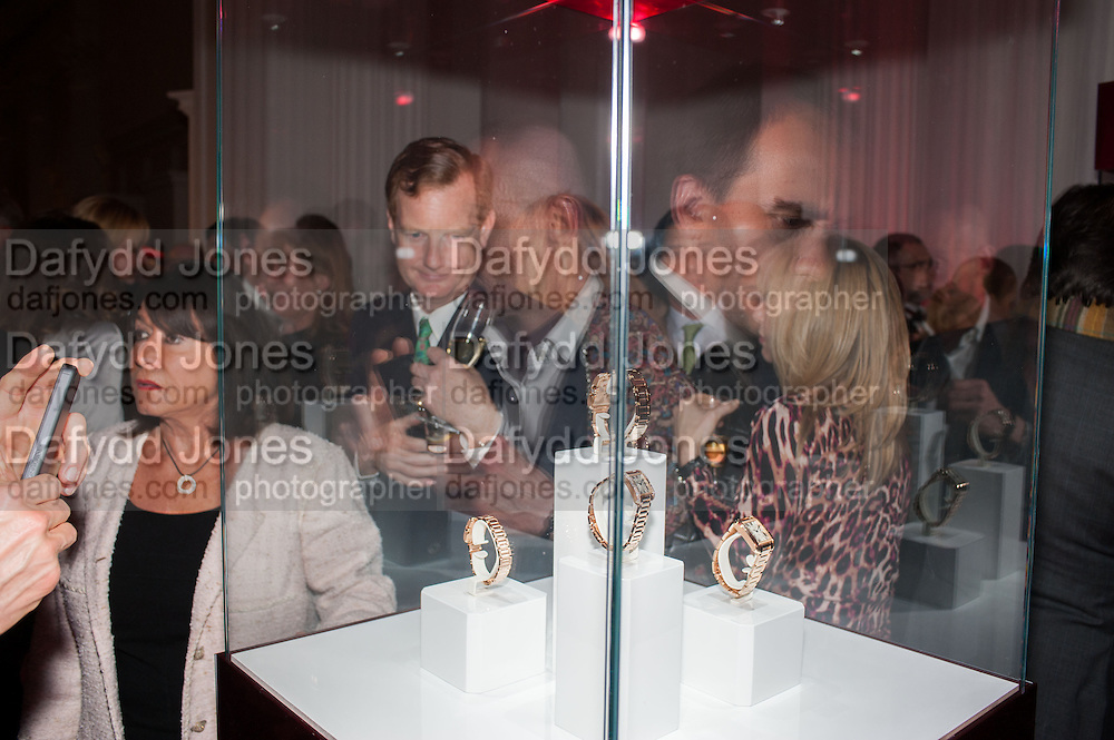 LORD DERBY, Cartier Tank Anglaise launch. Kensington Palace Orangery, London.  19 April 2012.