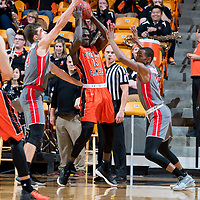 BUIES CREEK, NC - January 3rd, 2018 - Campbell Camels and Gardner-Webb at Gilbert Craig Gore Arena in Buies Creek, NC. Photo By Bennett Scarborough