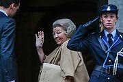 Nieuwjaarsreceptie van koning Willem-Alexander en koningin Maxima in het Paleis op de Dam voor de Nederlandse genodigden<br /> <br /> New Year's Reception of King Willem-Alexander and Maxima Queen in the Royal Palace for the Dutch guests<br /> <br /> Op de foto / On the photo:  Princes Beatrix