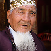 Muslim man in Leh, Ladakh, India