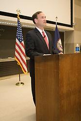 Supreme Court Associate Justice Samuel Anthony Alito, Jr. spoke to Professsor Larry Sabato's undergraduate politics class at the University of Virginia in Charlottesville, VA on February 7, 2007.