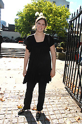 VICTORIA AITKEN at the memorial service of Isabella Blow held at the Guards Chapel, London W1 on 18th September 2007.<br />