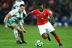 November 12, 2017 - Basel, Switzerland - FIFA World Cup Qualifiers play-off Switzerland v Northern Ireland.Breel Embolo of Switzerland in action at St. Jakob-Park in Basel, Switzerland on November 12, 2017. (Credit Image: © Matteo Ciambelli/NurPhoto via ZUMA Press)
