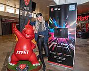 Media Markt, Utrecht. MSI Game Event. Op de foto: xSyoss