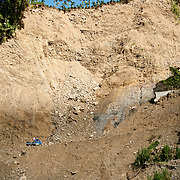 Repaired road in aftermath of Typhoon Morakot, Ching Shan Duan, Namasia, Kaoshiung County, and, Chashan, Chiayi County, Taiwan