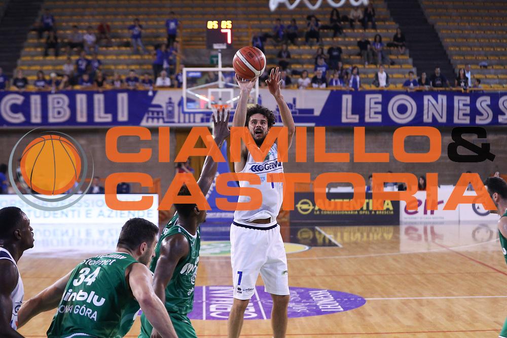 Vitali Luca, Germani Basket Brescia vs Stelmet Zielona Gora, 2 edizione Trofeo Roberto Ferrari, PalaGeorge di Montichiari 22 settembre 2017