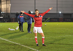 Rosella Ayane of Bristol City ready to face Aston Villa Ladies at Stoke Gifford Stadium - Mandatory by-line: Paul Knight/JMP - 05/12/2018 - FOOTBALL - Stoke Gifford Stadium - Bristol, England - Bristol City Women v Aston Villa Women - FA WSL Continental Tyres Cup