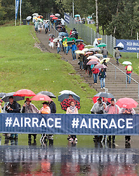 05.09.2015, Red Bull Ring, Spielberg, AUT, Red Bull Air Race, Spielberg, Qualifikation, im Bild Zuschauer nach der Absage des Qualifyings // during the qualifying of Red Bull Air Race Championships 2015 at the Red Bull Ring in Spielberg, Austria on 2015/09/05. EXPA Pictures © 2015, PhotoCredit: EXPA/ JFK