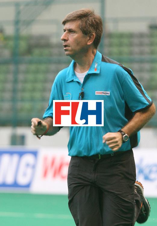Kuala Lumpur : Umpire at the Samsung Hockey Men Champions Trophy.  <br /> Photo:GNN/Vino John