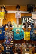 Guitar shop, Akihabara, Tokyo, Japan