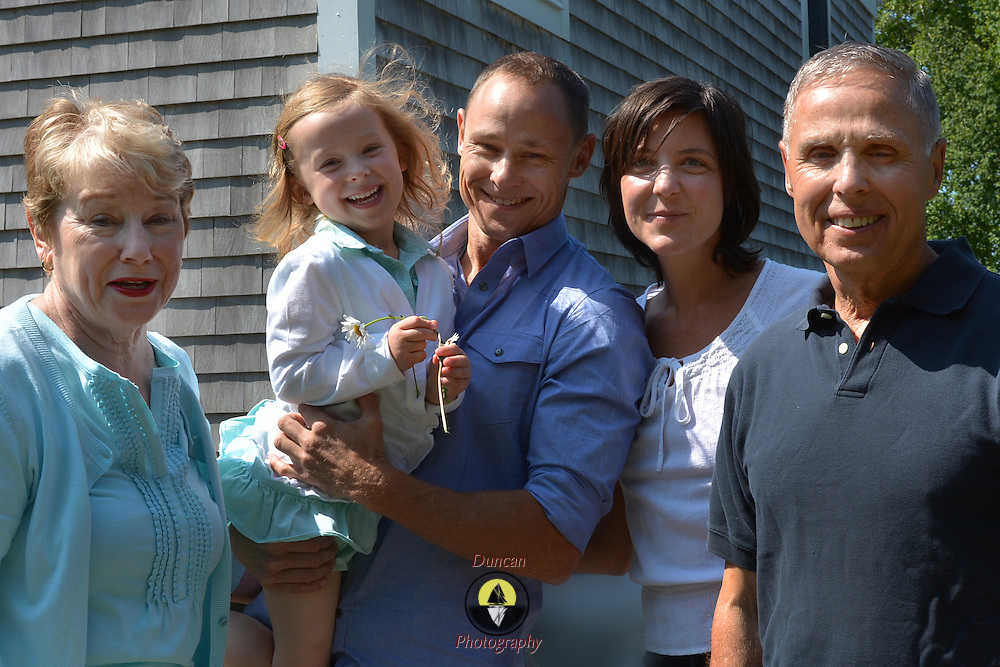 GEORGETOWN, Maine -- 6/30/14 -- Zike Family  portrait. DSC_2292<br /> Photo  ©2014 by Roger S. Duncan <br /> Released for all purposes to Zike Family