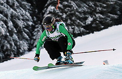 Sasa Faric of Slovenia at FIS World Cup Ski cross race, on December 20, 2009 in Innichen / San Candido, Italy. (Photo by Grega Stopar)