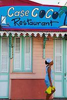 France, Martinique, Restaurant a Sainte Luce