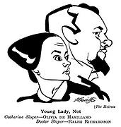 The Heiress ; Olivia De Havilland and Ralph Richardson