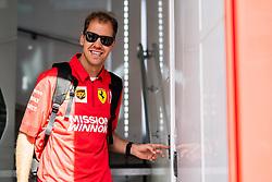 May 9, 2019 - Barcelona, BARCELONA, SPAIN - BARCELONA, SPAIN, 9 May 2019, Circuit de Barcelona Catalunya; Sebatian Vettel driver of Ferrari at Circuit de Barcelona Catalunya (Credit Image: © AFP7 via ZUMA Wire)