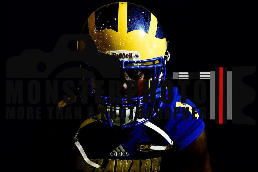 Photo of Delaware Wide receiver Jamie Jarmon (6) taken Sunday, August 14, 2016, at Delaware Field House Facility on the campus of the university of Delaware in Newark.