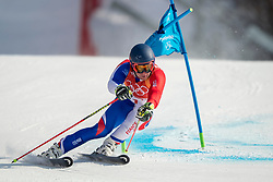 PYEONGCHANG-GUN, SOUTH KOREA - FEBRUARY 18: Alexis Pinturault of France competes during the Alpine Skiing Men's Giant Slalom at Yongpyong Alpine Centre on February 18, 2018 in Pyeongchang-gun, South Korea. Photo by Ronald Hoogendoorn / Sportida