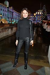 OLGA KURYLENKO at Skate At Somerset House with Fortnum & Mason on 16th November 2016.