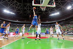Dusko Savanovic of Serbia at friendly match between BIH and Serbia for Adecco Cup 2011 as part of exhibition games before European Championship Lithuania on August 8, 2011, in SRC Stozice, Ljubljana, Slovenia. (Photo by Urban Urbanc / Sportida)